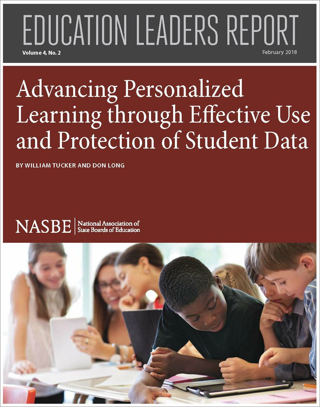 Cover Image for Advancing Personalized Learning. Click image to download report